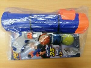 Nerf Dog Mini Ball Blaster 35ft Dog Puppy Toy 3 Balls Included