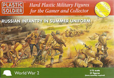 Plastic Soldier 1/72 WWII Russian Infantry (Summer)