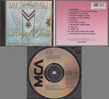 CRUSADERS With B.B. KING & PHILHARMONIC ORCHESTRA Royal Jam 1982 [JAPAN] Disc CD