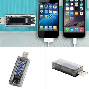 USB Power Tester Voltage Current Capacity Meters 4-20V 3A Test Chargers & Cables
