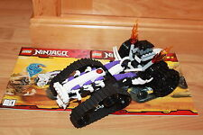 Lego Ninjago -Turbo Shredder Fahrzeug, Skelett Chopper aus Set 2263 Bauanleitung