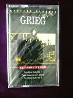 GRIEG Masters Classic Peer Gynt Suite 60 Minute Cassette Tape NEW SEALED