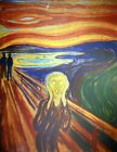Edvard Munch, The Scream, Plate Signed Lithograph