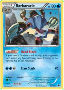 Pokemon TCG XY Fates Collide Barbaracle 23/124 Rare - Brand New Genuine