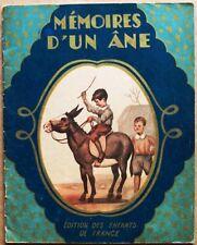 EO 1946 > MEMOIRES D'UN ANE (Editions des Enfants de France)