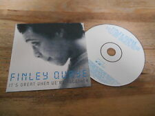 CD POP Finley Quaye-It 's Great when we' re together (2 chanson) Epic Sony CB
