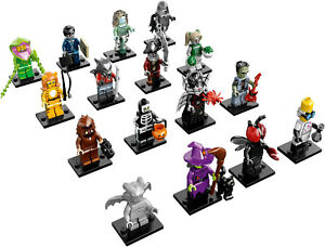Lego 71010 Collectable Minifigures Series 14 Complete Set CMF Monsters Zombies