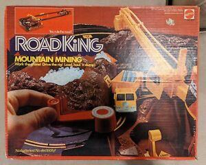 1973 ROAD KING MOUNTAIN MINING SET HOT WHEELS YELLOW REDLINE TRUCK CAB W/ BOX