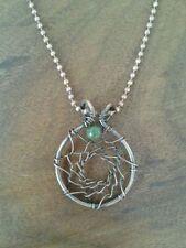 Gemstone Copper Round Costume Necklaces & Pendants
