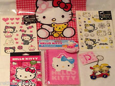 ❤️HELLO KITTY LOT 😺 Christmas 🎄Tattoos ~Stickers ~Birthday ~Party Favors NEW❤️