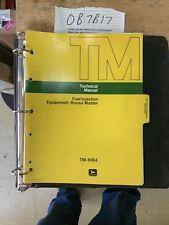 John Deere - Roosa Fuel Injection Equipment Technical Service Manual -TM 1064