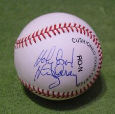 HARRY CARAY - HOLY COW - Signed/Autographed NL BASEBALL BALL Cubs w/ JSA LOA COA