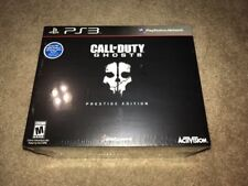Call of Duty: Ghosts Prestige Edition New Sealed (Sony PlayStation 3, 2013) PS3