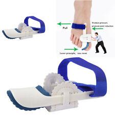 2 Toe Straightener & Bunion Hallux Valgus Corrector Night Splint Pain Relief