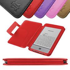 Premium Schutzhülle im Buch Stil für Amazon Kindle eReader TOUCH / TOUCH 3G, ROT