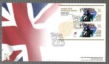 GB 2012 LONDON PARALYMPIC GAMES FDC - NATASHA BAKER EQUESTRIAN CHAMPIONSHIP TEST