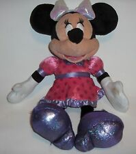 Disney Minnie Mouse Tickled Pink doll plush - talks and giggles bow lights