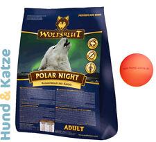 15 kg WOLFSBLUT ADULT POLAR NIGHT MIT RENTIER UND KÜRBIS + GRATIS-BALL