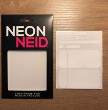 IQOS Device Designfolie Schutzfolie Klebe Folie - weiß Neu Neon Neid Skin white