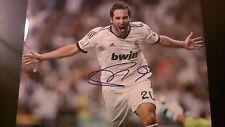 Gonzalo Higuain Real Madrid Soccer SIGNED 11x14 Photo COA!