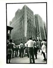 1970 Original Steve Rose Photo of the Manhatten Detention Center Attica Riots