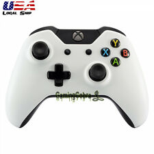 Solid White Face Plate Front Housing Shell Mod for Xbox One Wireless Controller
