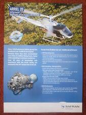 DOCUMENT PUB TURBOMECA SAFRAN ARRIEL 2D HELICOPTER TURBINE ENGINE AS 350 B3E