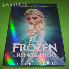 FROZEN EL REINO DEL HIELO CLASICO DISNEY 55 - DVD NUEVO Y PRECINTADO SLIPCOVER