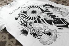 Stardust Eyes L White T-shirt | LP ABYSSAL ABYSSIC BEHERIT VENOM DRUDKH TAAKE