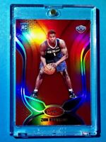Zion Williamson RARE RED ROOKIE PANINI CERTIFIED REFRACTOR 2019-20 RC - Mint!