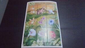 NEVIS 1996 SG 1033A FLOWERS SHEET MNH (B)