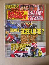 MOTOSPRINT n°49 1997 HONDA CBR 900 RR KAWASAKI ZX-9R  [MS8]