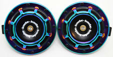 A Pair Neo Chrome Universal 12V5 Compact Super Tone Loud Blast Grill Mount Horn