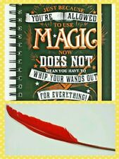 Harry Potter Molly Weasley Quote Notebook and Feather Quill Pen Set