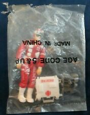 VINTAGE HASBRO 1988 GI JOE ARAH LIFELINE FIGURE SEALED BAGGIE WITH HOLES NOS HK