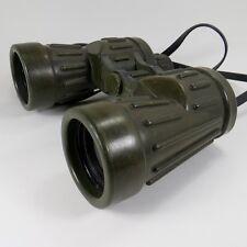 Vintage Bushnell US Navy Binoculars Waterproof 7 x 50 USN Military Green Ribbed