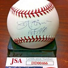 Jim Palmer~HOFer~Autographed Rawlings Official Major League Baseball~JSA/COA