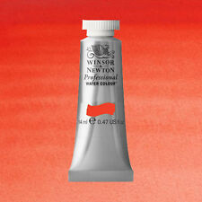 Winsor and Newton Artist Watercolor Scarlet Lake 14ml Tube 0105-603