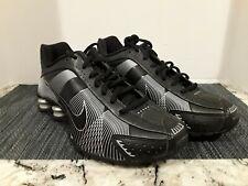 7071fe61f473 Nike Shox R4 Flywire Black Metallic Silver (395816-003) Wmn size 8