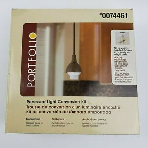 Portfolio Recessed Light Conversion Kit #0074461 - Bronze Finish