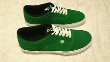 CIRCA green suede mens Skate Sneakers shoes size 9 M