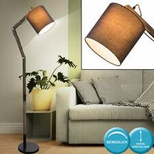 Diseño Madera Lámpara Pie Trabajo Habitación Articulación Textil Techo Ajustable