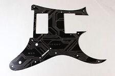 Black Circuit Anodized Aluminum pickguard fits Ibanez (tm) RG550 Jem RG HXH HH