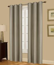 2 A72 Persian Insulated Thermal 100% Room Privacy Blackout Window Curtain Panels