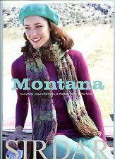 Montana - Sirdar Knitting Pattern Book 430 - 16 DK Designs for Men, Women & Kids