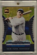 2012 Topps Babe Ruth Golden Moments Giveaway 24 KT Gold Embedded Die Cut (1/1)