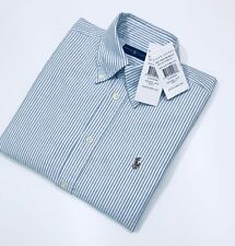 Ralph Lauren Slim Fit Cropped Sleeve Oxford Ladies Shirt  (Size S)      RRP £85