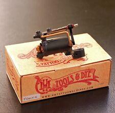 Frankenstein rotary tattoo machine by HM machines