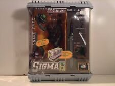 G.I.Joe Sigma6 Code Name Snake Eyes