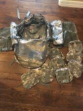 Molle II Lighweight Medic 3 Day Pack w 8 pouches bandoleer Brand New